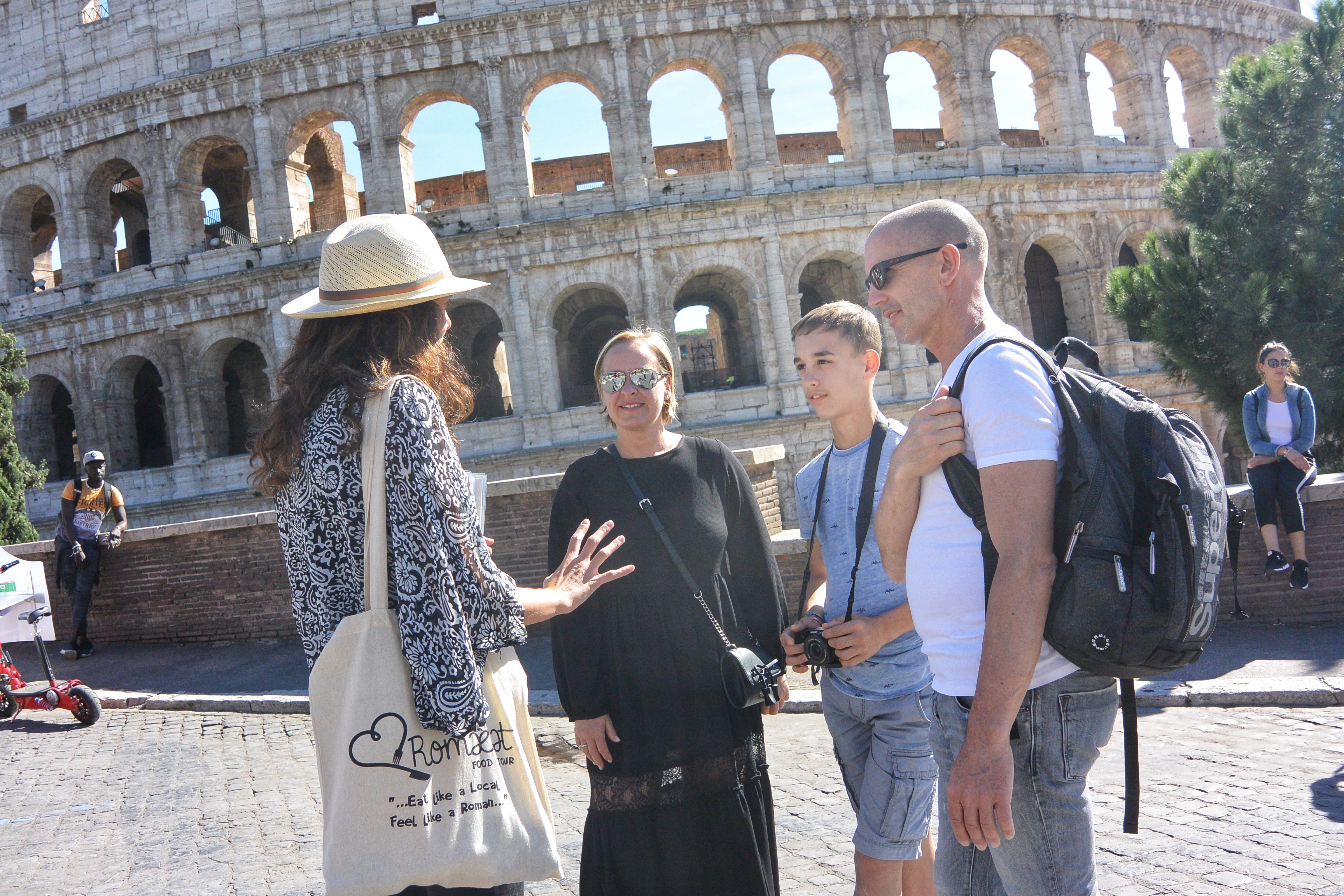 Foto dell'esperienza al Colosseo ed al Palatino